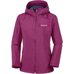 Columbia Trek Light Stretch Jacket Women Wine Berry